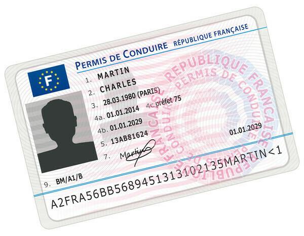 Permis de Conduire France