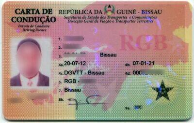 Permis de Conduire Guinée Bissau