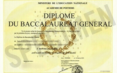 Diplôme BAC Français