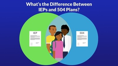 What's the Difference Between IEPs and 504 Plans?