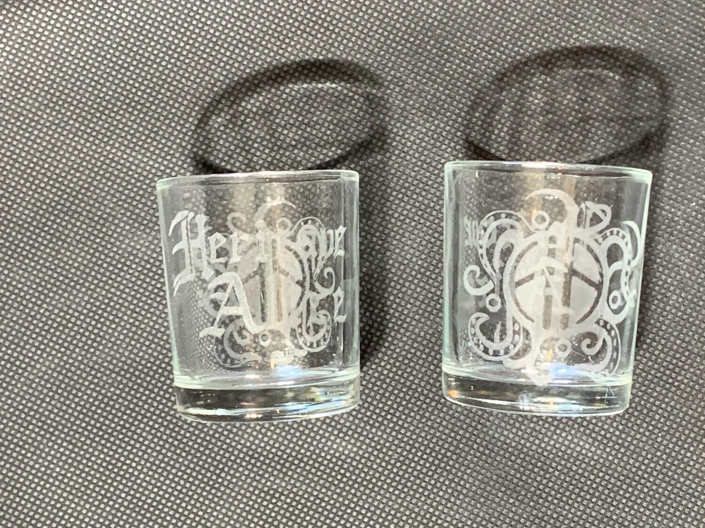 Hericane Alice Shot Glasses