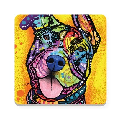 Dean Russo Pit Bull Cork Coaster Sets (2 designs available)
