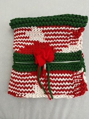 Christmas Handcrafted T-Shirt Throw/Blanket