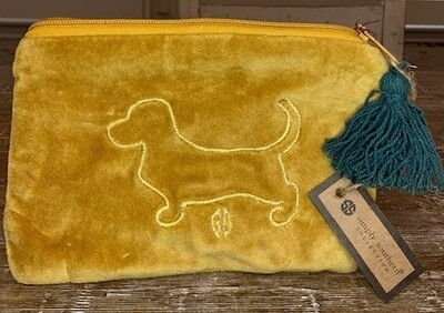 Simply Southern Velvet Lined Purse