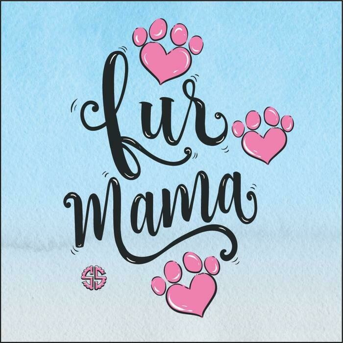 Simply Southern Coaster w/Easel: 'Fur Mama'