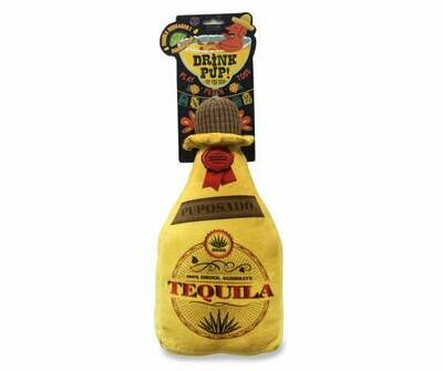 Tequila Squeaker Dog Toy