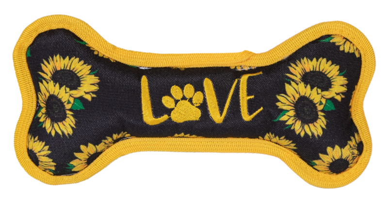 Simply Southern 'Love' Squeaker Dog Toy