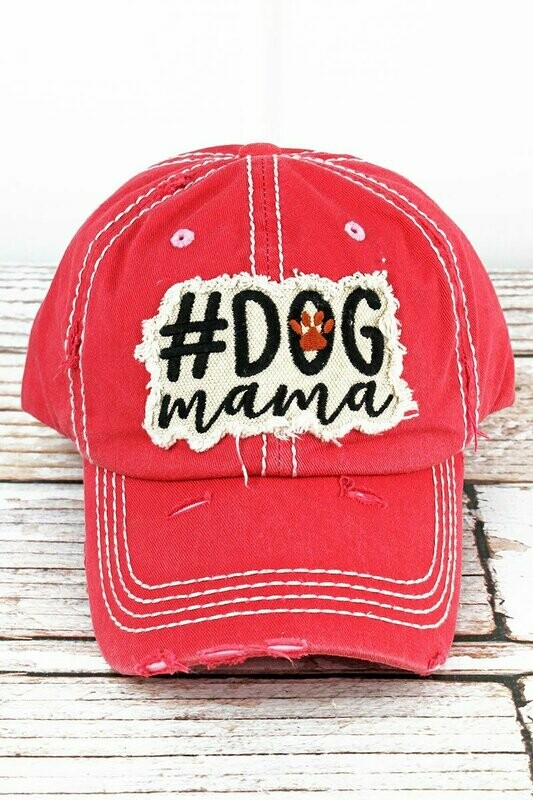 #DogMama Embroidered Baseball Cap (3 colors!)