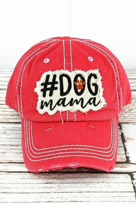 #DogMama Embroidered Baseball Cap (2 colors!)