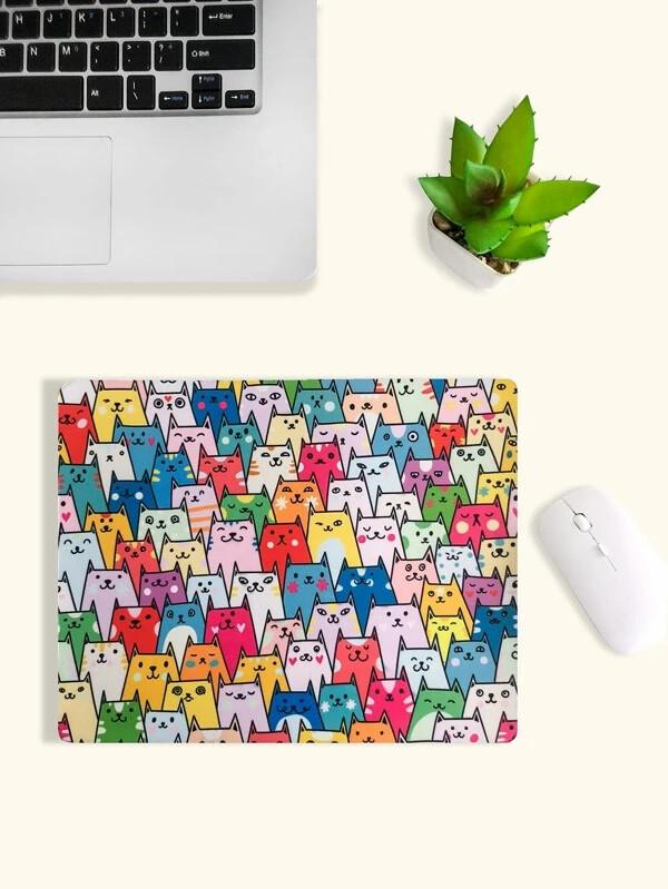 Multi-colored Cats Mousepad