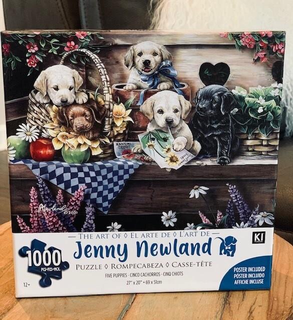 'Five Puppies' 1000 pcs Puzzle
