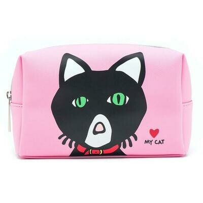 Marc Tetro Cat Cosmetic Case