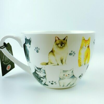 British Cats Mug: 'Best Friend Four Paws'