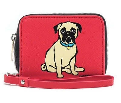 Marc Tetro Leather Pug Wallet