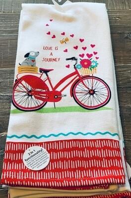 2-Pack Kitchen Towel Set: Puppy Love