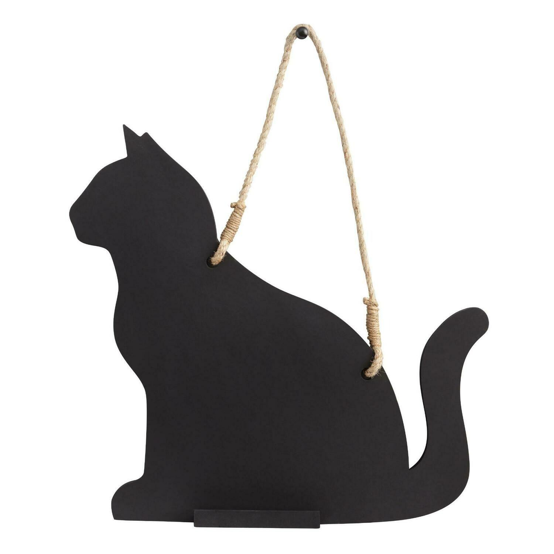 Cat-Shaped Chalkboard