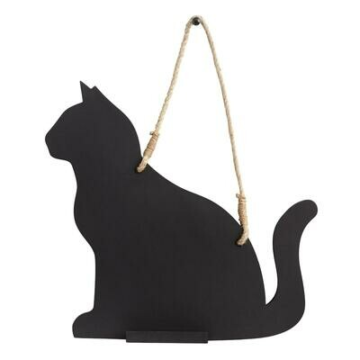 Cat-Shaped Chalkboard
