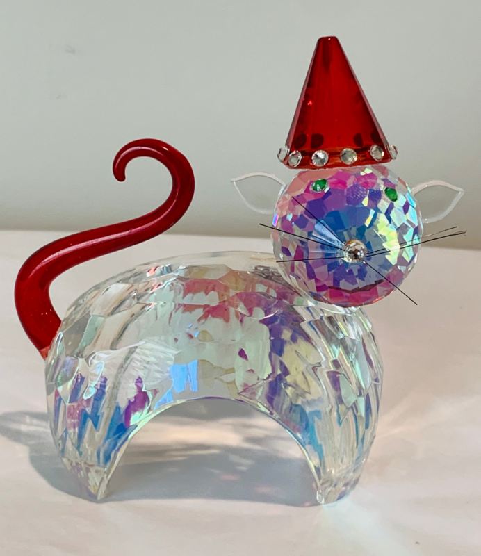 Genuine Crystal Collectible Cat