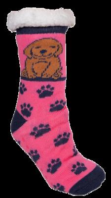 Simply Southern Dog Love Non-Slip Camper Socks