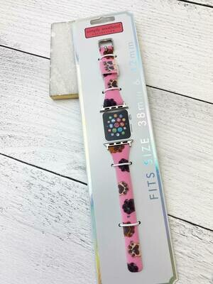 Simply Southern Apple Watch Band: Pink Paws