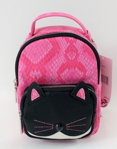 Designer Mini Cat Backpack