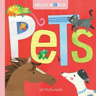 'Pets' Children's Book (Baby-3yrs)
