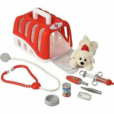 Veterinarian Play Set w/ Plush Dog Toy