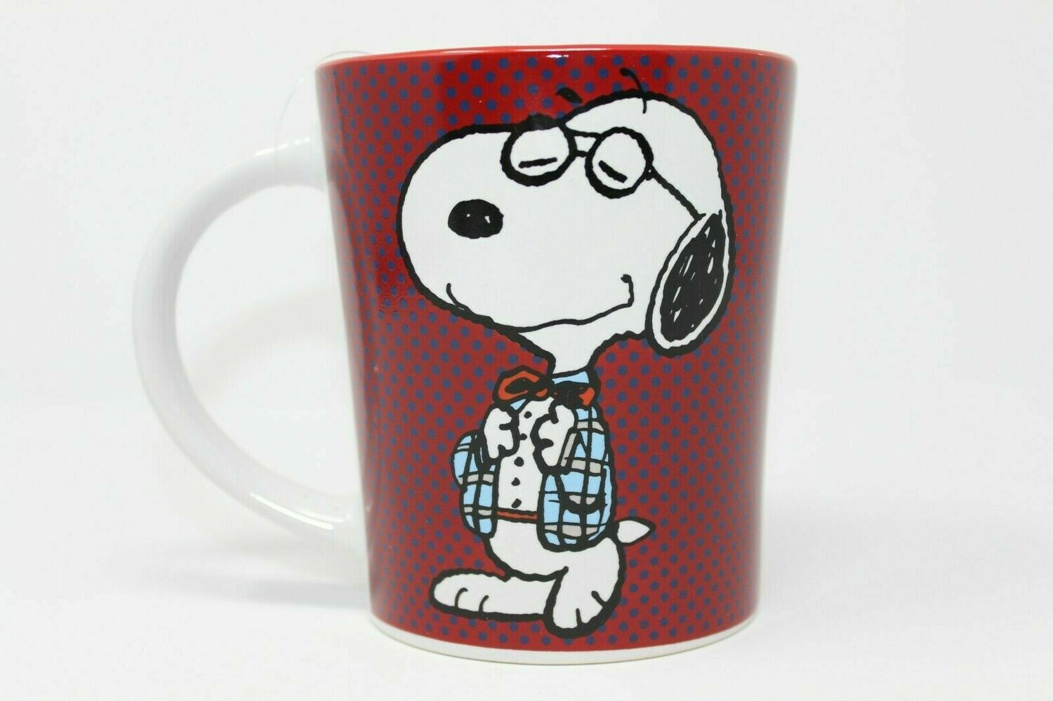 Dressed Up Snoopy Red Mug