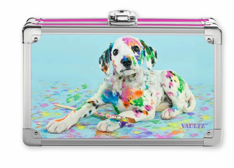Painted Puppy Locking Supply Box
