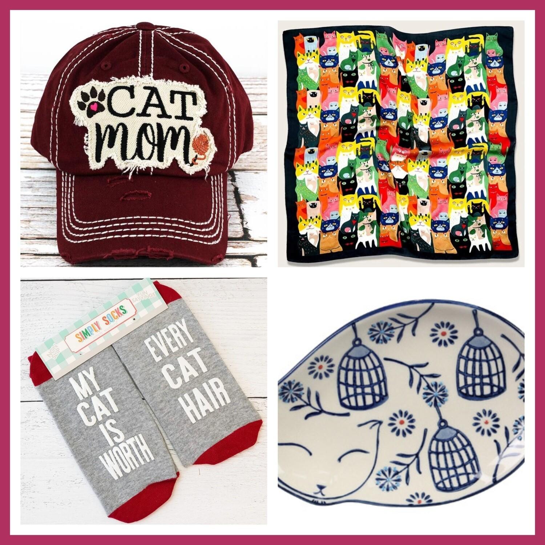 Meow-tastic Cat Mom Bundle I (2 hat colors!)