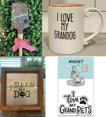 'Grandma Loves Her Granddog(s)' Bundle