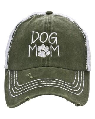 'Dog Mom' Baseball Cap