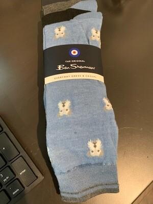 Set of 3 Men's Designer Socks - Dogs Print