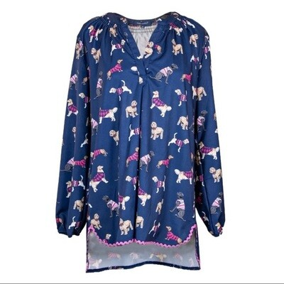 Simply Southern Tunic - Dogs Print