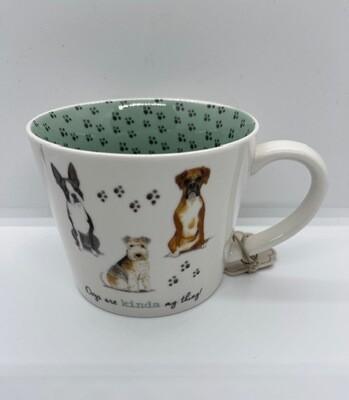 'Dogs are Kinda My Thing' British Mug