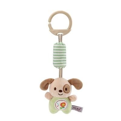 Plush Puppy Crib & Stroller Rattle