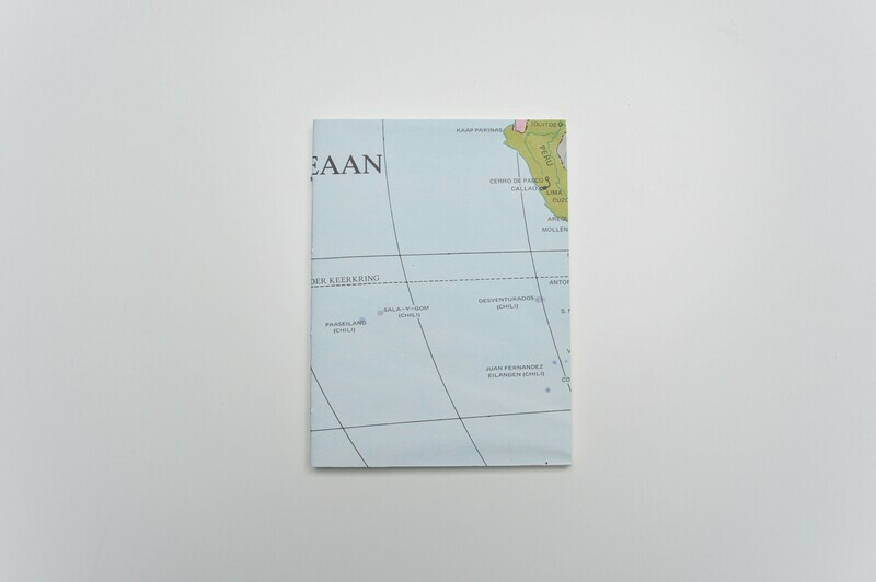 World Map Book - Peru Green