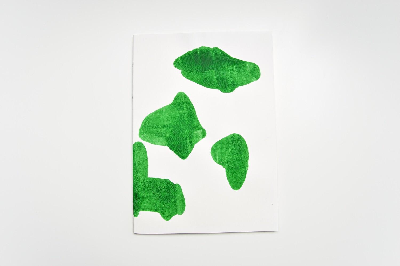 Rorschach Books - A4 - Green