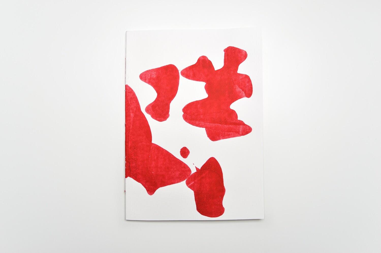 Rorschach Books - A4 - Dark Red