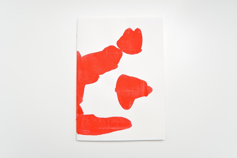 Rorschach Books - A4 - Light Red