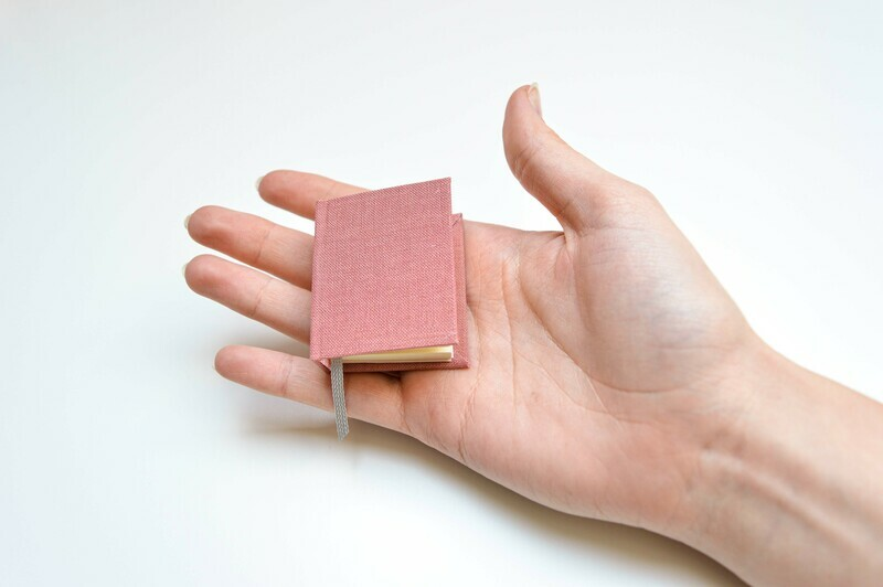 Miniature Books - Pink & Light Pink