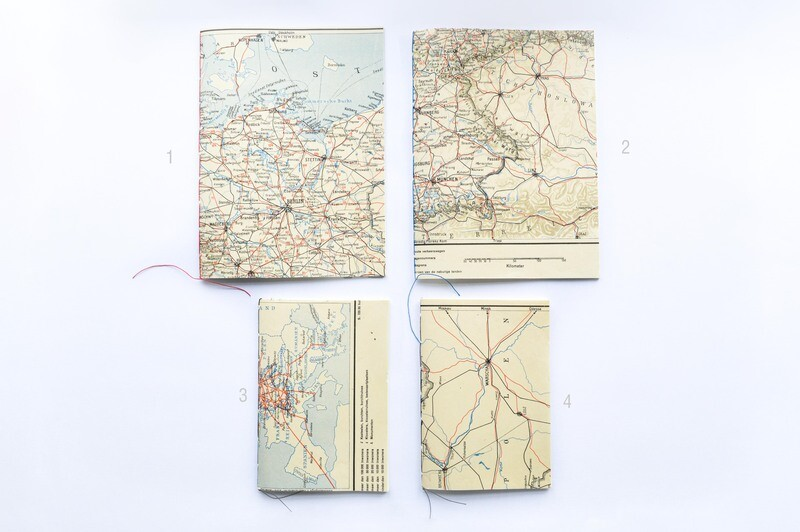 Old Map Booklet - Germany