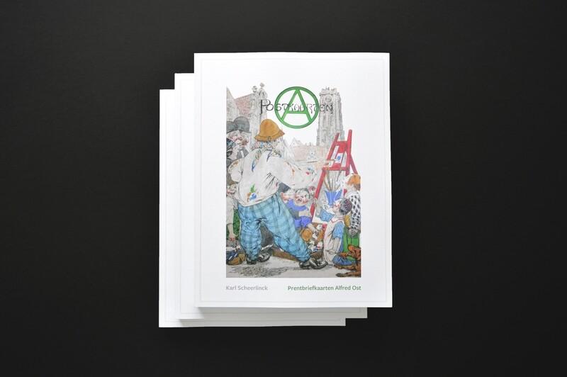 Prentbriefkaarten Alfred Ost