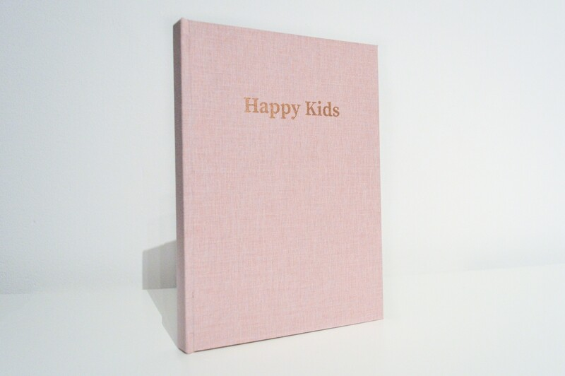 Happy Kids - A5 Hardcover Notebook