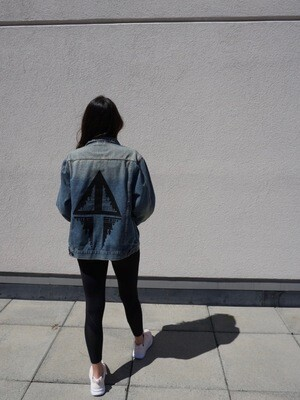 Dark Denim Unisex Jacket