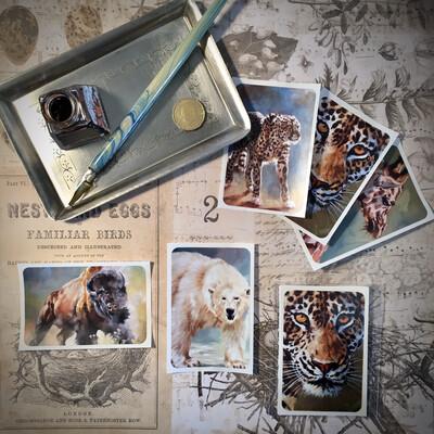 Wildlife Sticker Set
