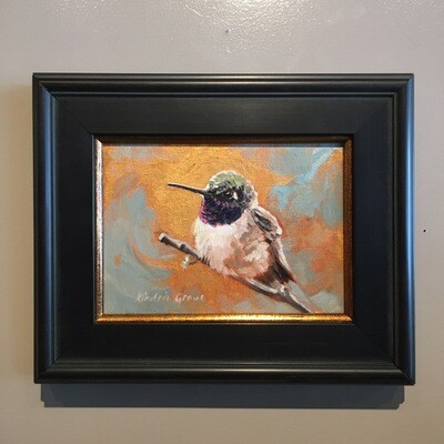 Golden Creatures: Black-chinned Hummingbird