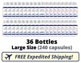 Terra Nova Seal Oil - 36 Large Bottles