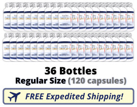 Terra Nova Seal Oil - 36 Regular Bottles