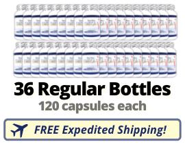 Terra Nova Seal Oil - 36 Regular Bottles